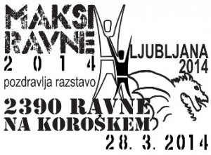 MAKSI Ravne 2014 pozdravlja Ljubljano 2014