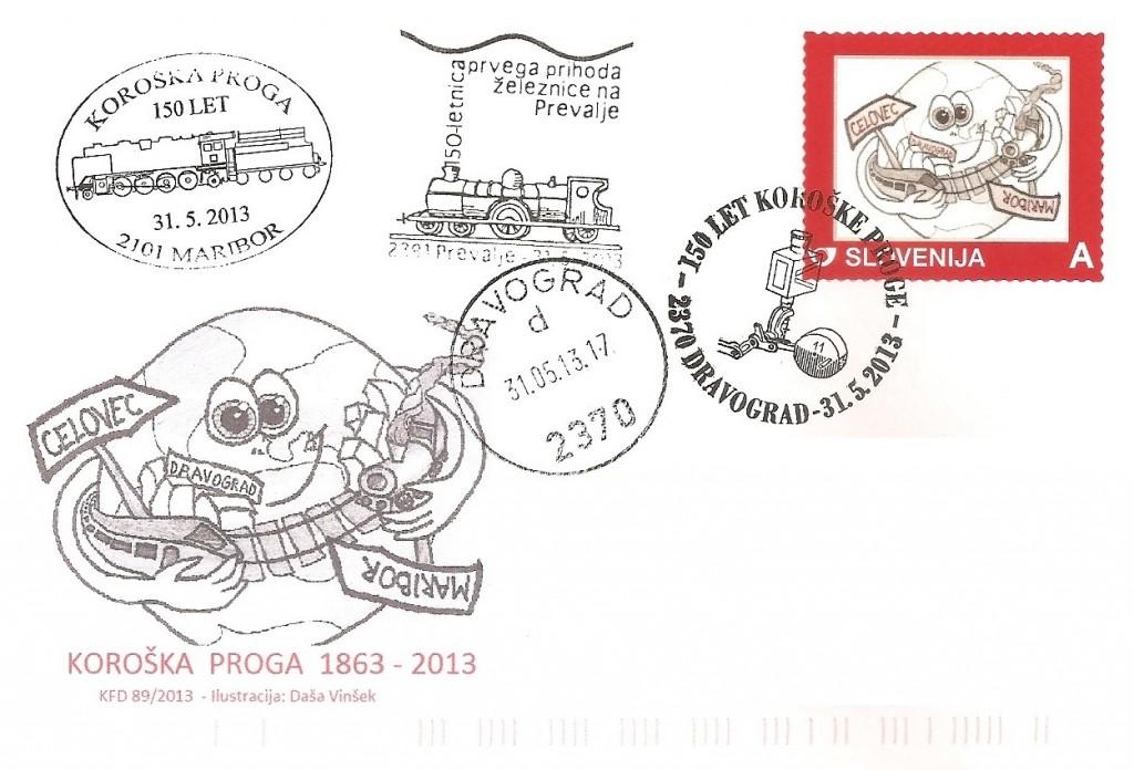KOROŠKA PROGA 1863 - 2013