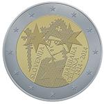 2 EUR  - priložnostni kovanec