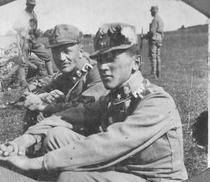 3. Poročnik na Sedmograškem l. 1917
