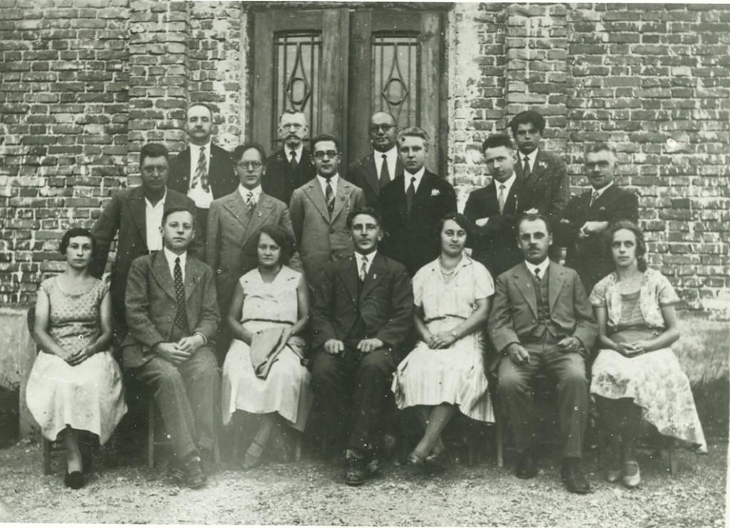 6.Odbor Sokolskega društva Guštanj l. 1932 (KPM - Muzej Ravne)_1