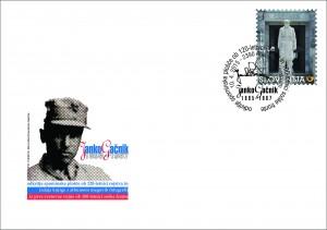 Janko GAČNIK - dotisk na kuverti