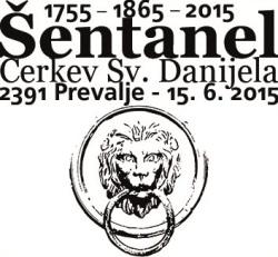 Šentanel 1755 - 1865 - 2015
